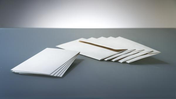 DIN Lang Hanfpapier Set: Karte mit Kuvert